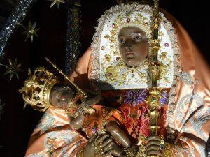 Virgen de Candelaria. Imagen extraida de wikipedia.org