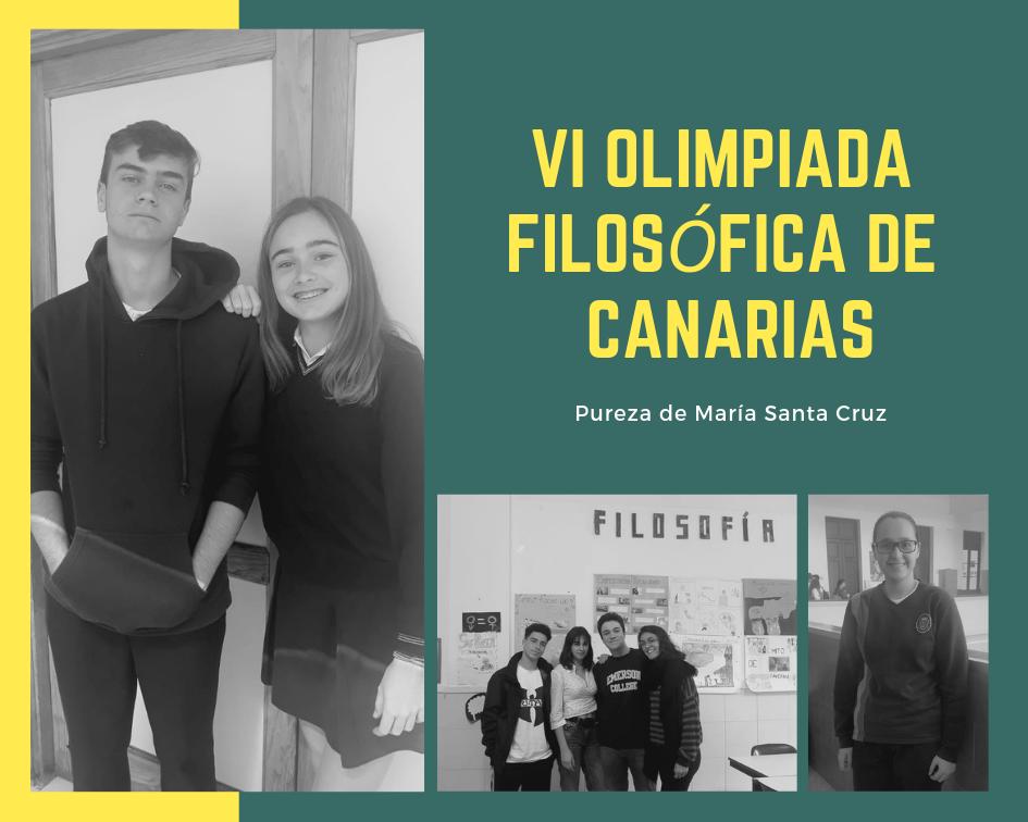 VI Olimpiada Filosófica de Canarias